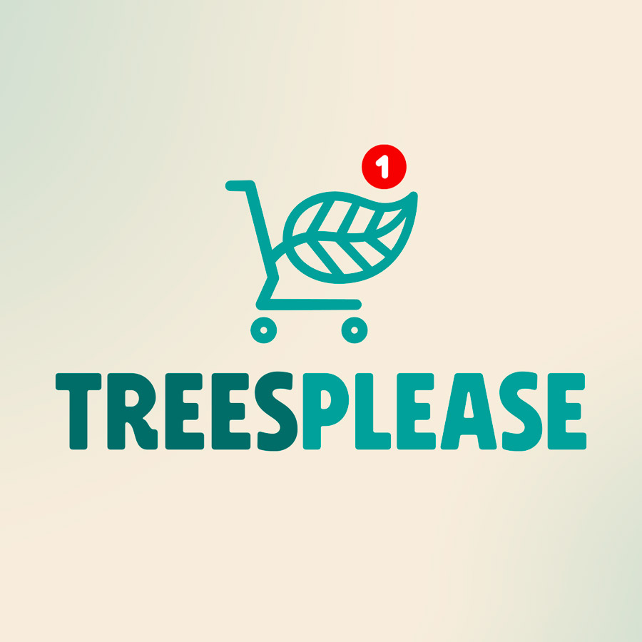 TreesPlease logo & webdesign