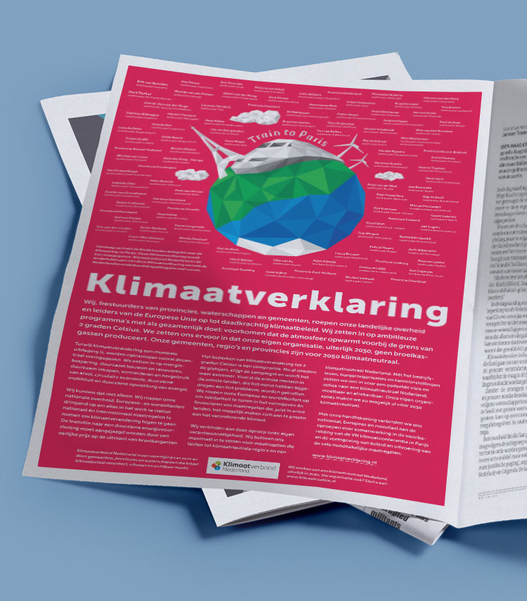 Advertentie Klimaatverklaring