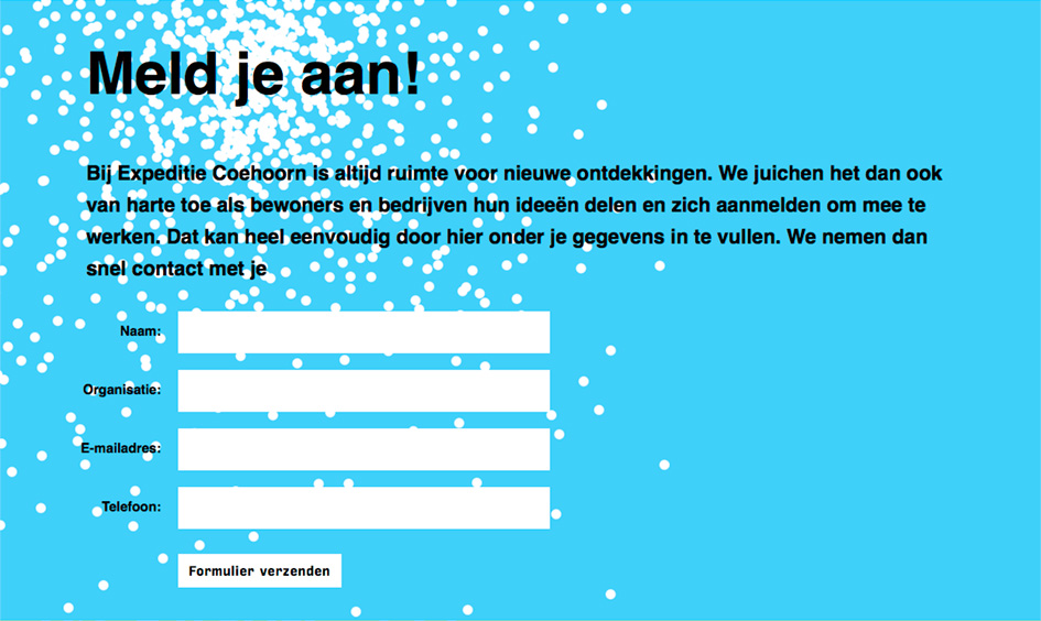 Website Expeditie Coehoorn