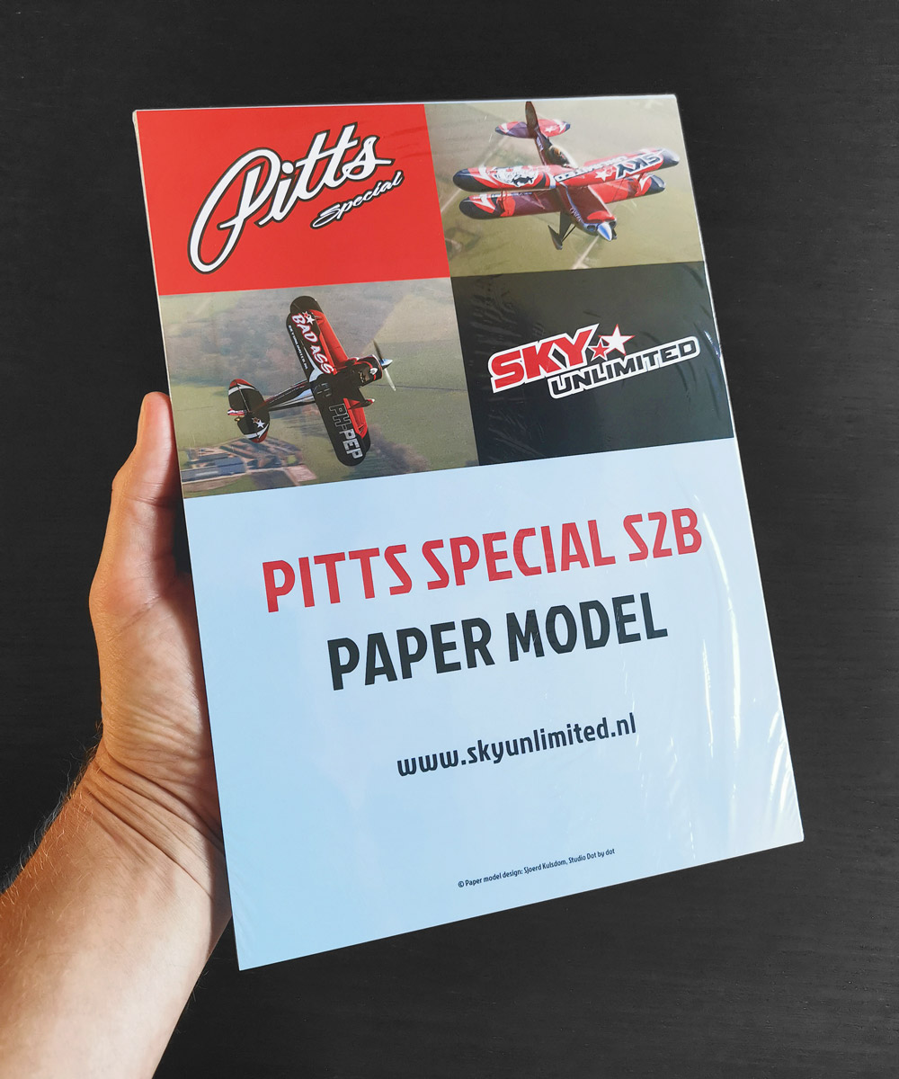 Paper model airplane: Pitts Special